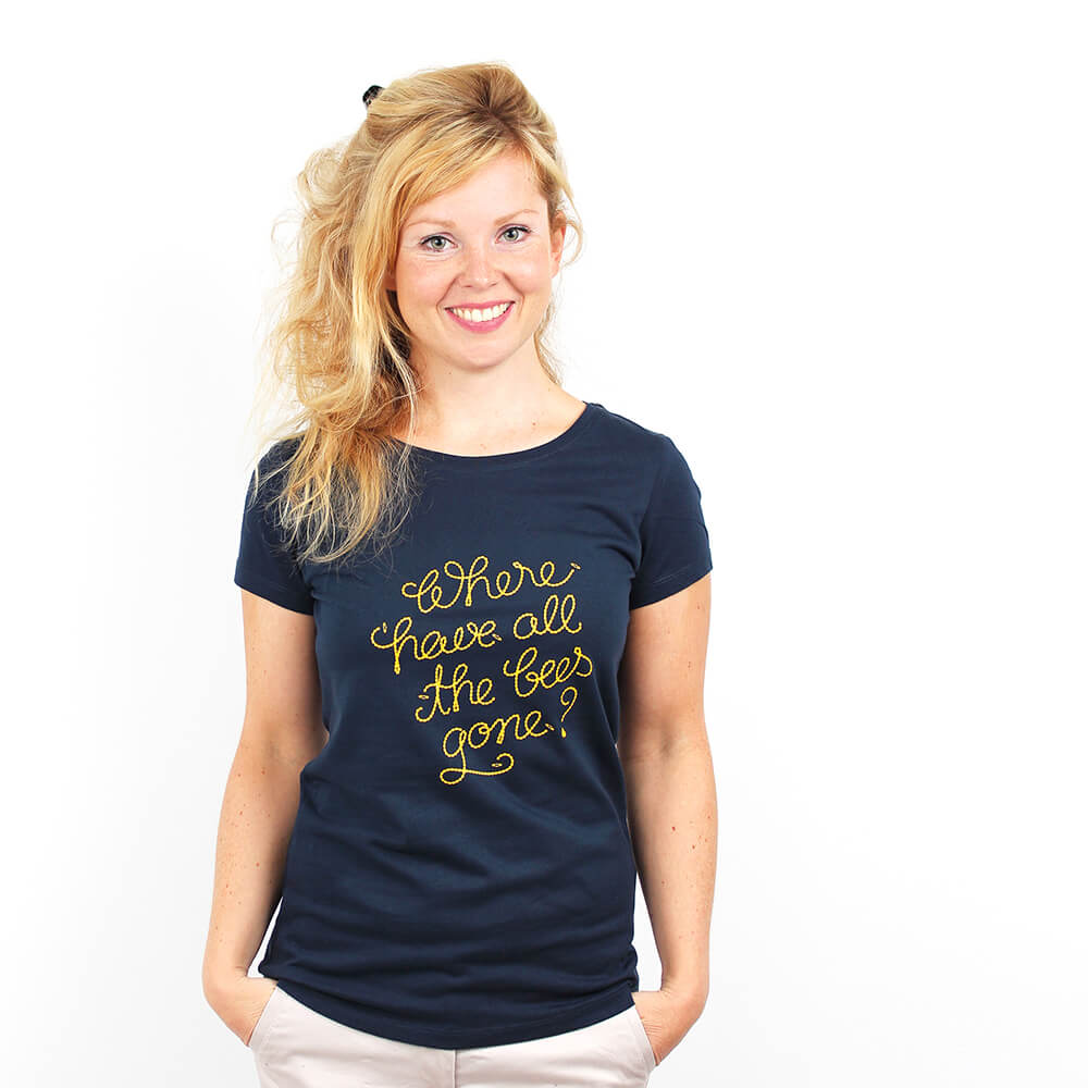 Where Have All The Bees Gone - Shirt Frauen